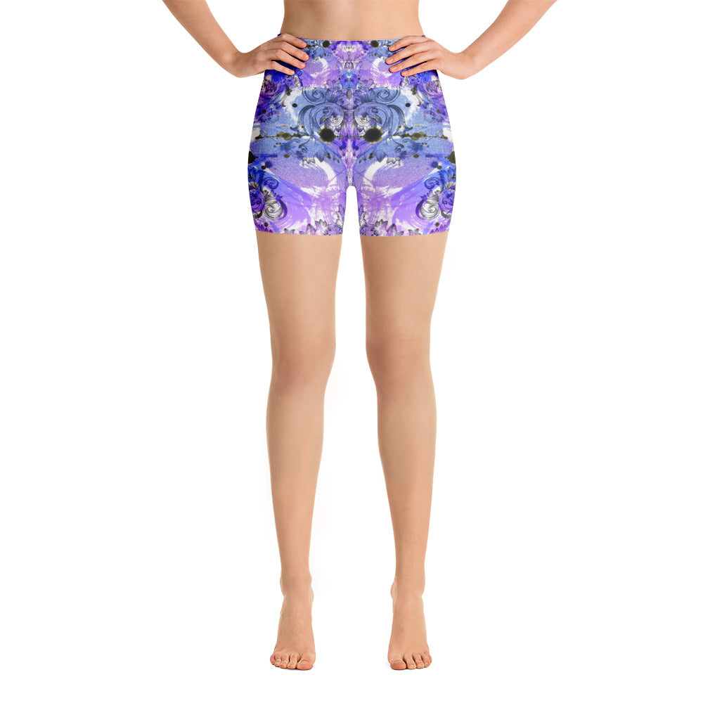 Mystery Purple Yoga Short - ZBAZAAR