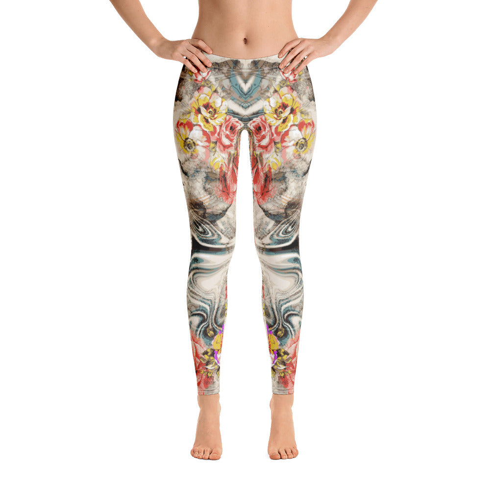 Clear Mind All-Over Legging - ZBAZAAR