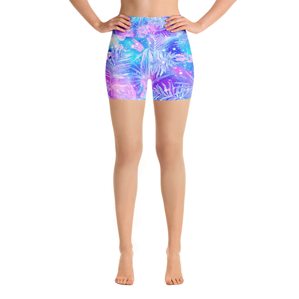 Bright Galaxy Yoga Short - ZBAZAAR