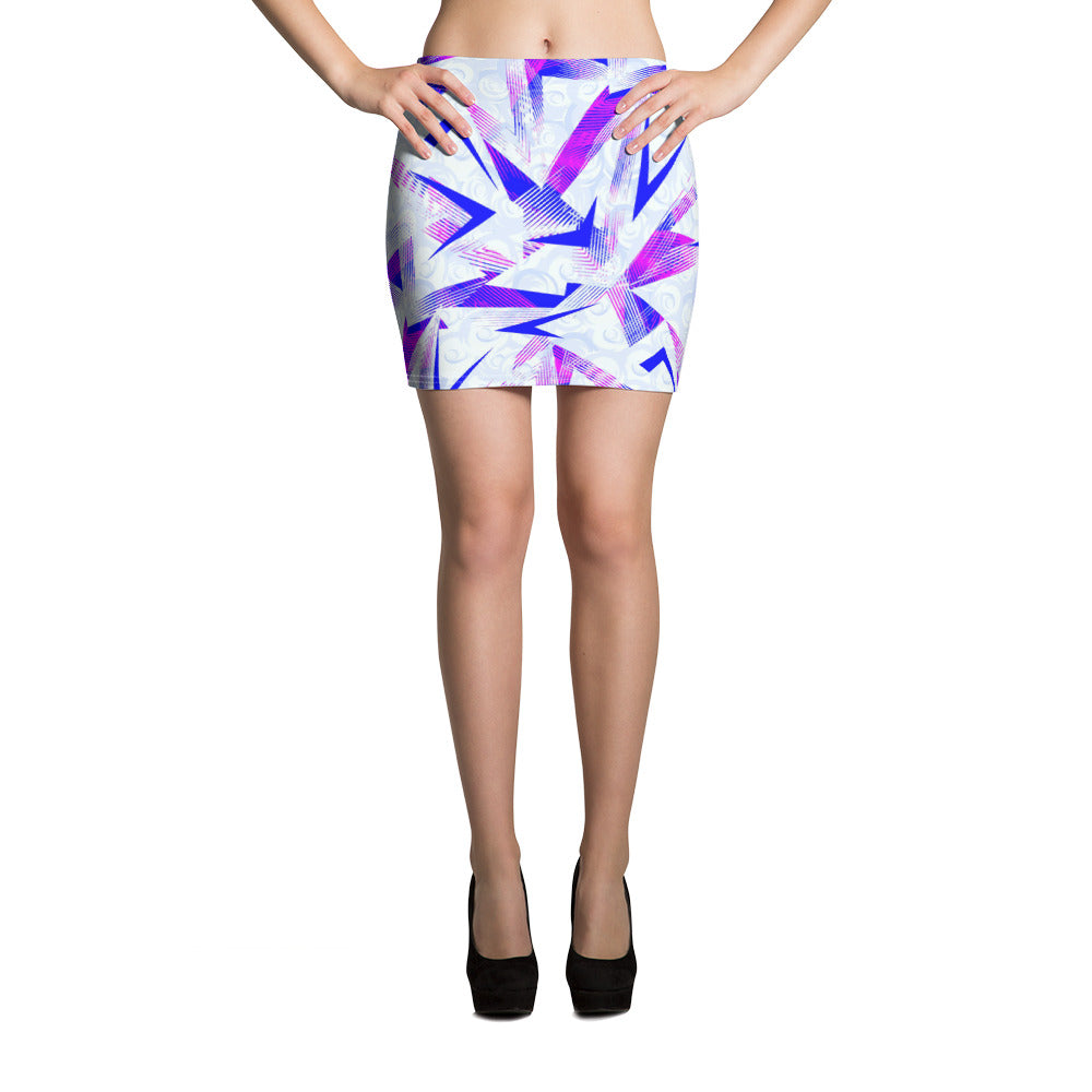 Dynamic Mini Skirt - ZBAZAAR