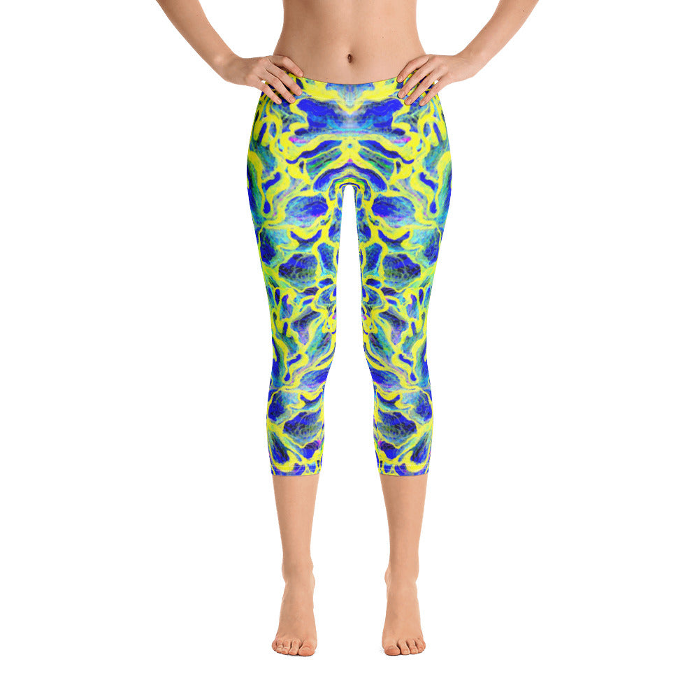 Colorful Skin Capri Legging - ZBAZAAR