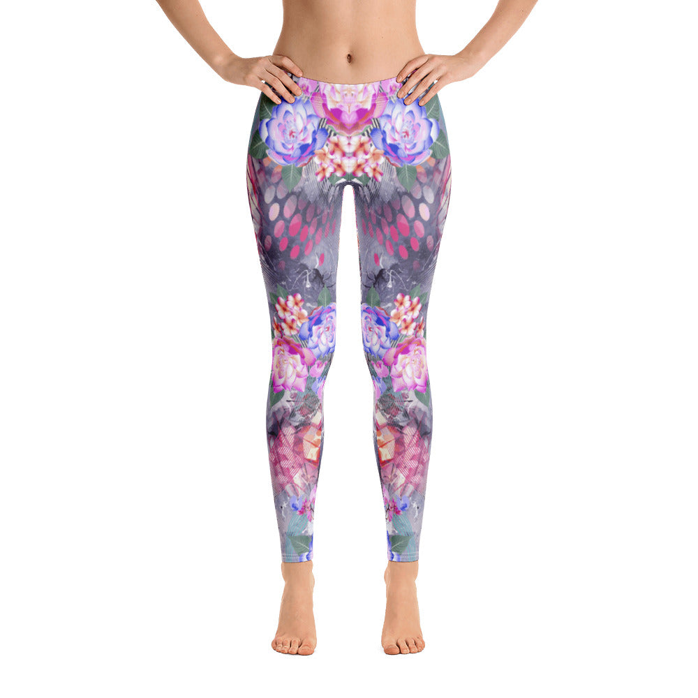 Floral Dawn All-Over Legging - ZBAZAAR