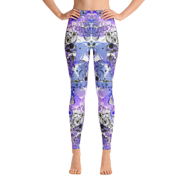 Mystery Purple Yoga Legging - ZBAZAAR