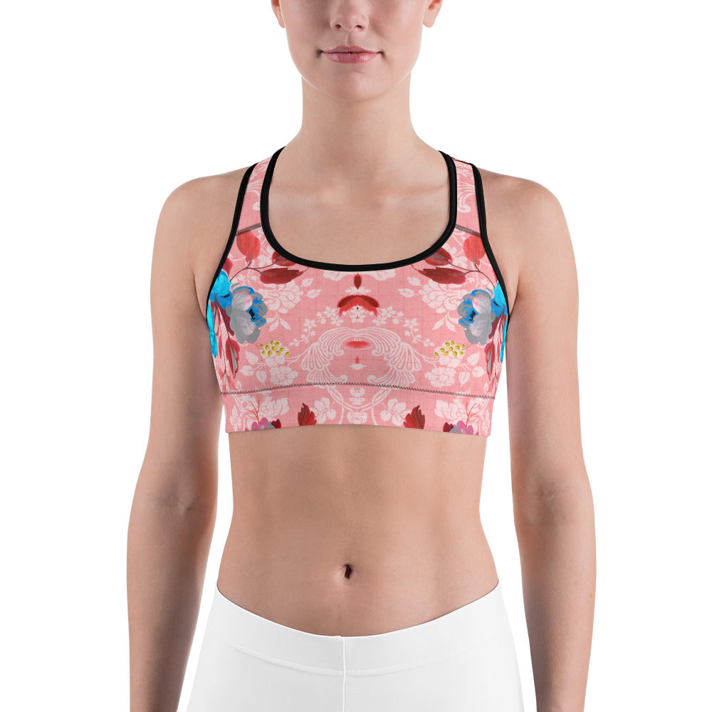 Pinkish Sports bra - ZBAZAAR