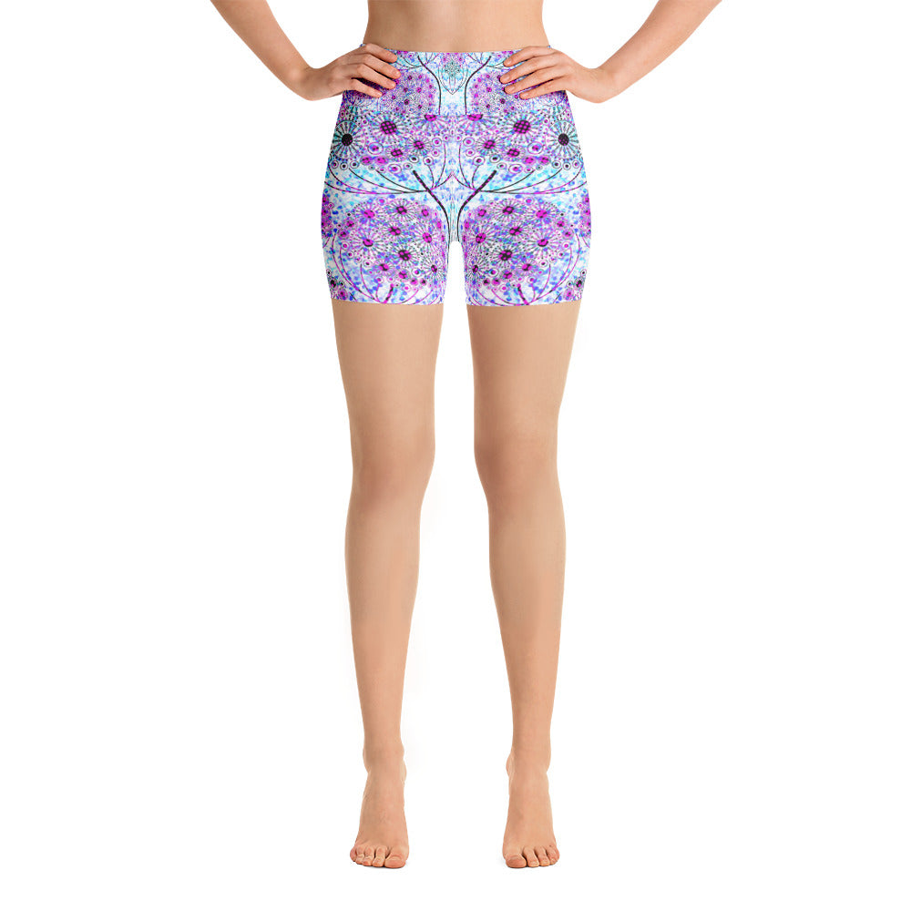 Life Tree Yoga Short - ZBAZAAR