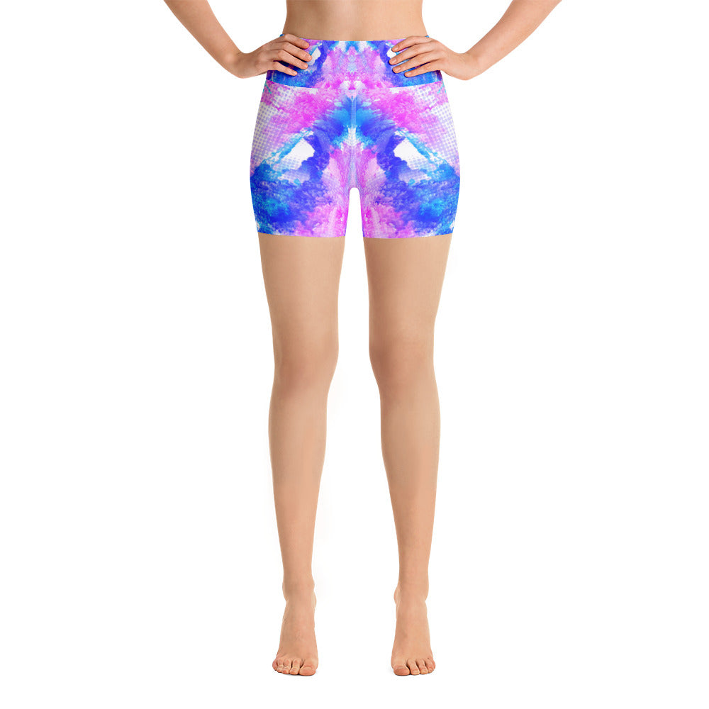 Happy Mixture Yoga Short - ZBAZAAR