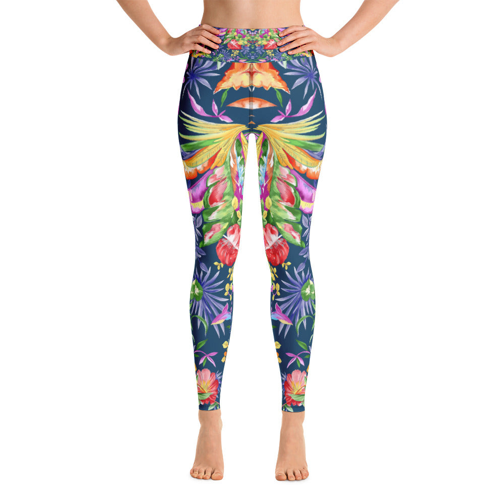 Heavens Blue Yoga Legging - ZBAZAAR