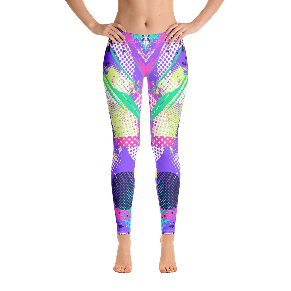 Colorful Brust All-Over Legging - ZBAZAAR