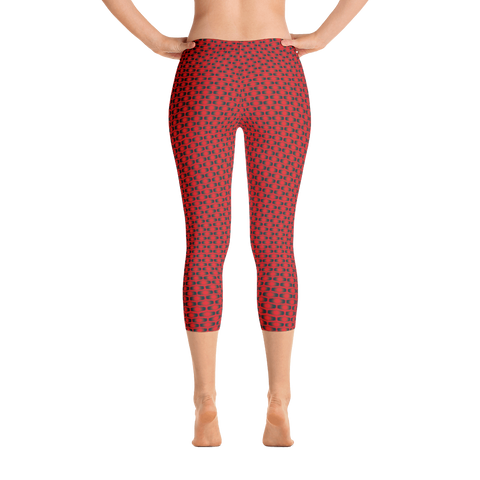 Capri Leggings / Red Eye