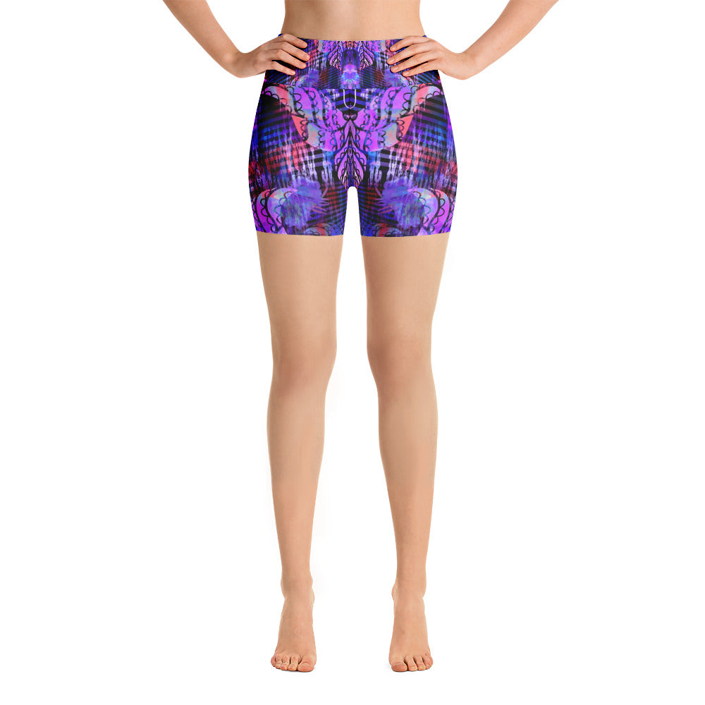 Indigo Beauty Yoga Short - ZBAZAAR