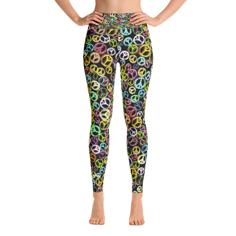 Colorful Rings Yoga Legging - ZBAZAAR