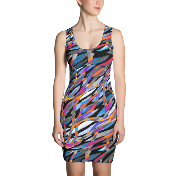 Sublimation Cut & Sew Dress / Tropical Fusion - ZBAZAAR