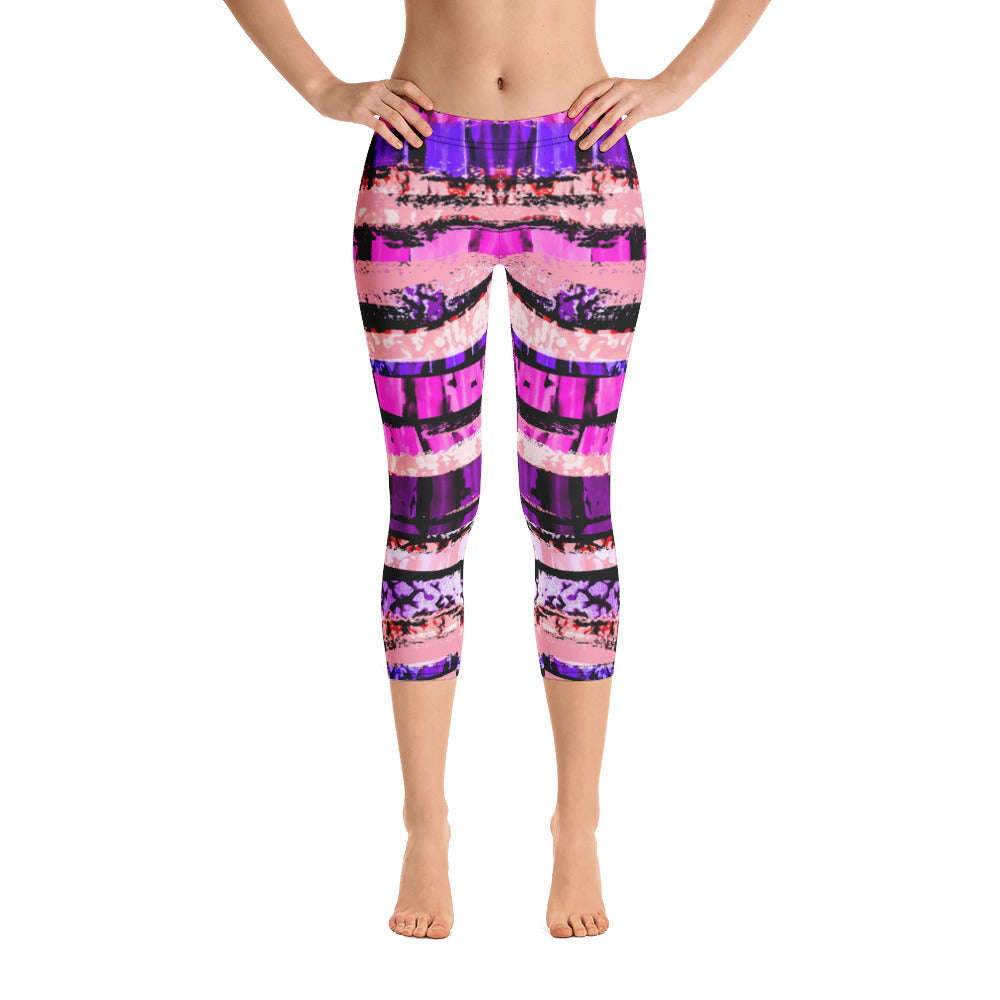 Layers of Beauty Capri Legging - ZBAZAAR