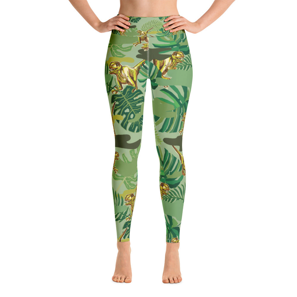 The Dinosaur Yoga Legging - ZBAZAAR