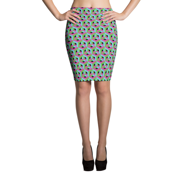 Pencil Skirt / Y Forest - ZBAZAAR