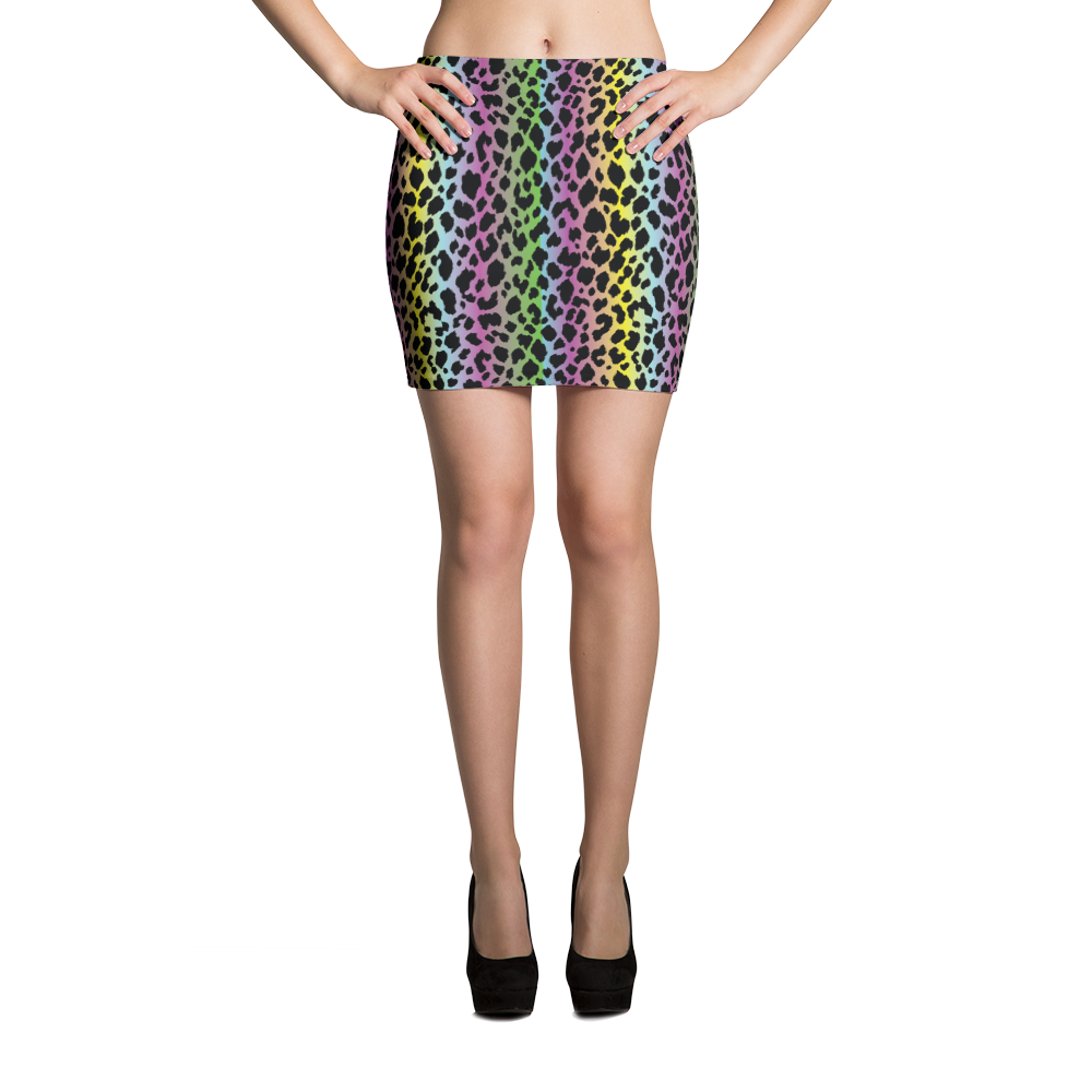 Mini Skirt / LF Cheetah - ZBAZAAR