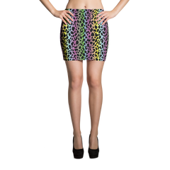 Mini Skirt / LF Cheetah