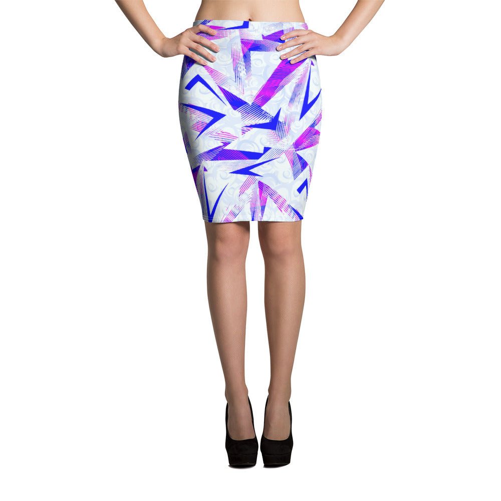 Dynamic Pencil Skirt - ZBAZAAR