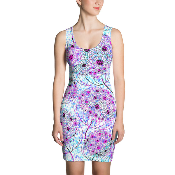 Life Tree Sublimation Cut & Sew Dress - ZBAZAAR