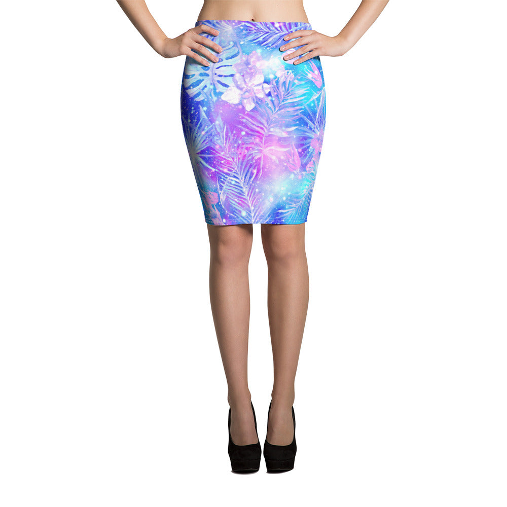 Bright Galaxy Pencil Skirt - ZBAZAAR
