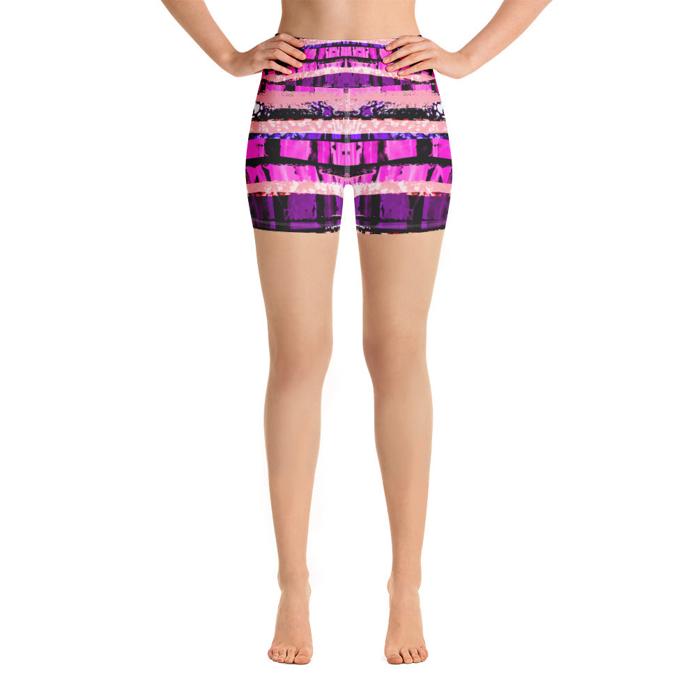 Layers of Beauty Yoga Short - ZBAZAAR
