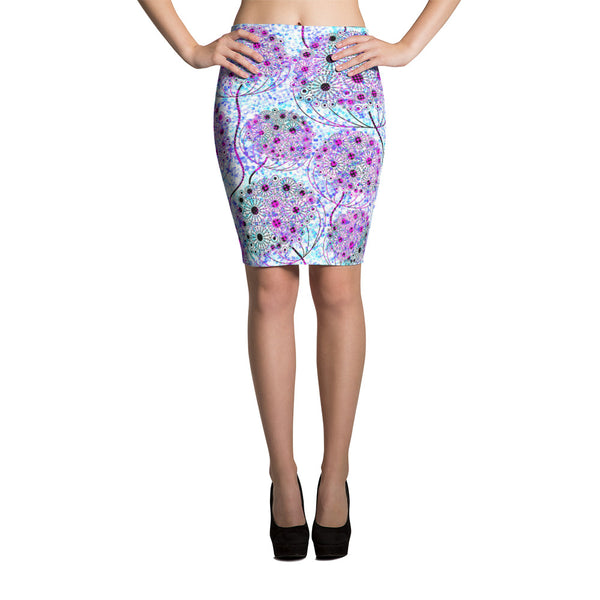 Life Tree Pencil Skirt - ZBAZAAR