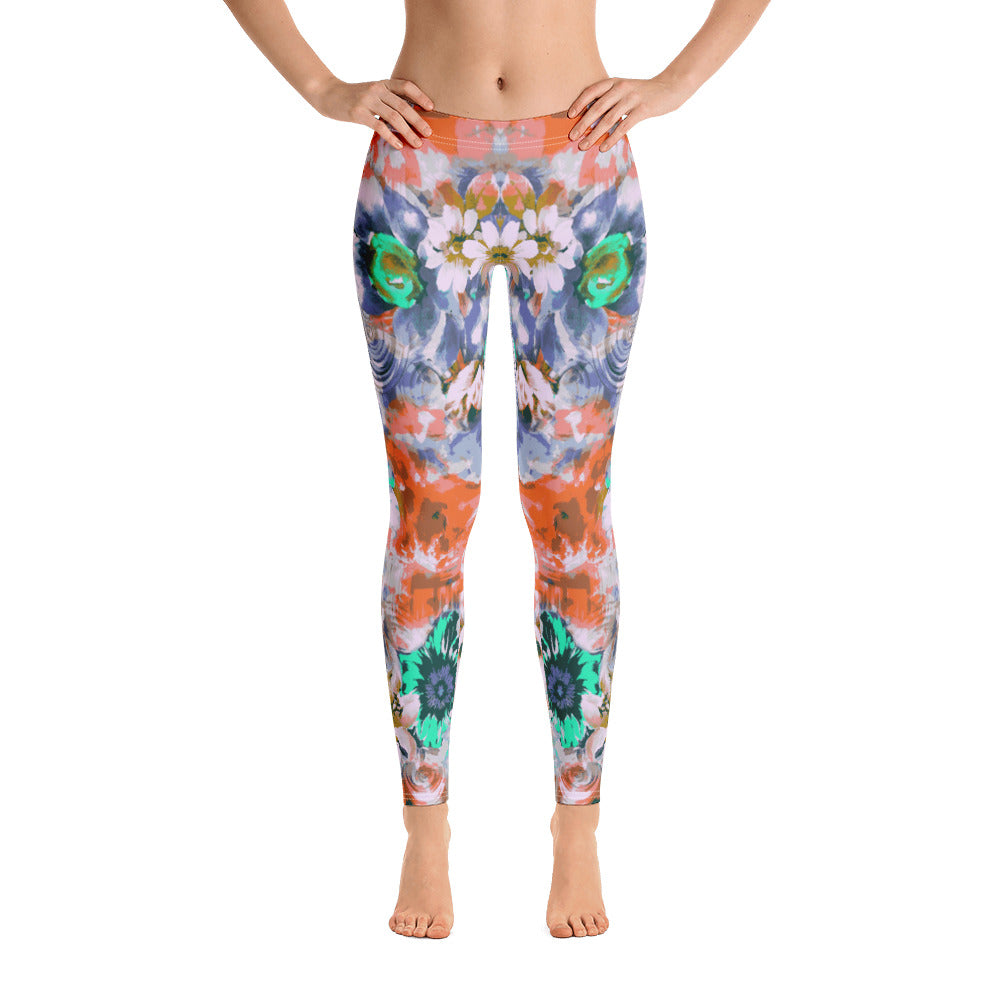 Mystery Garden All-Over Legging - ZBAZAAR