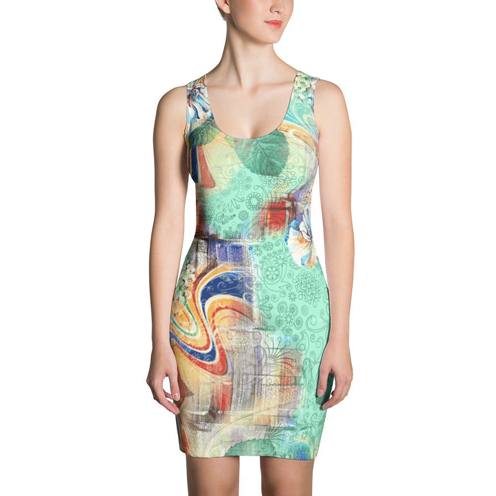 Flower of the Angel Sublimation Cut & Sew Dress - ZBAZAAR