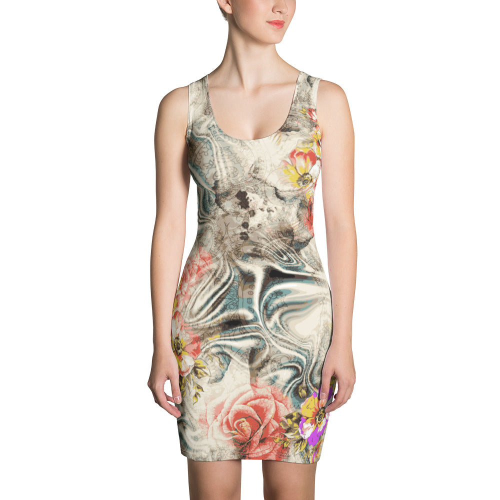 Clear Mind Sublimation Cut & Sew Dress - ZBAZAAR