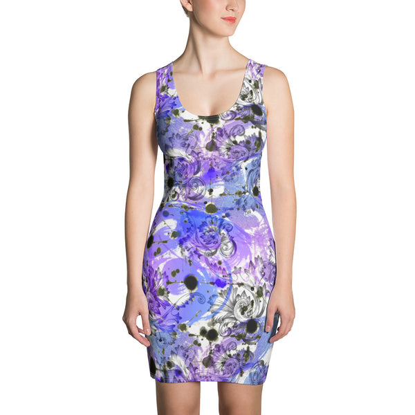 Mystery Purple Sublimation Cut & Sew Dress - ZBAZAAR
