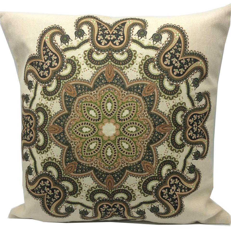 Throw Pillow Case Cover Shahrzad - ZBAZAAR