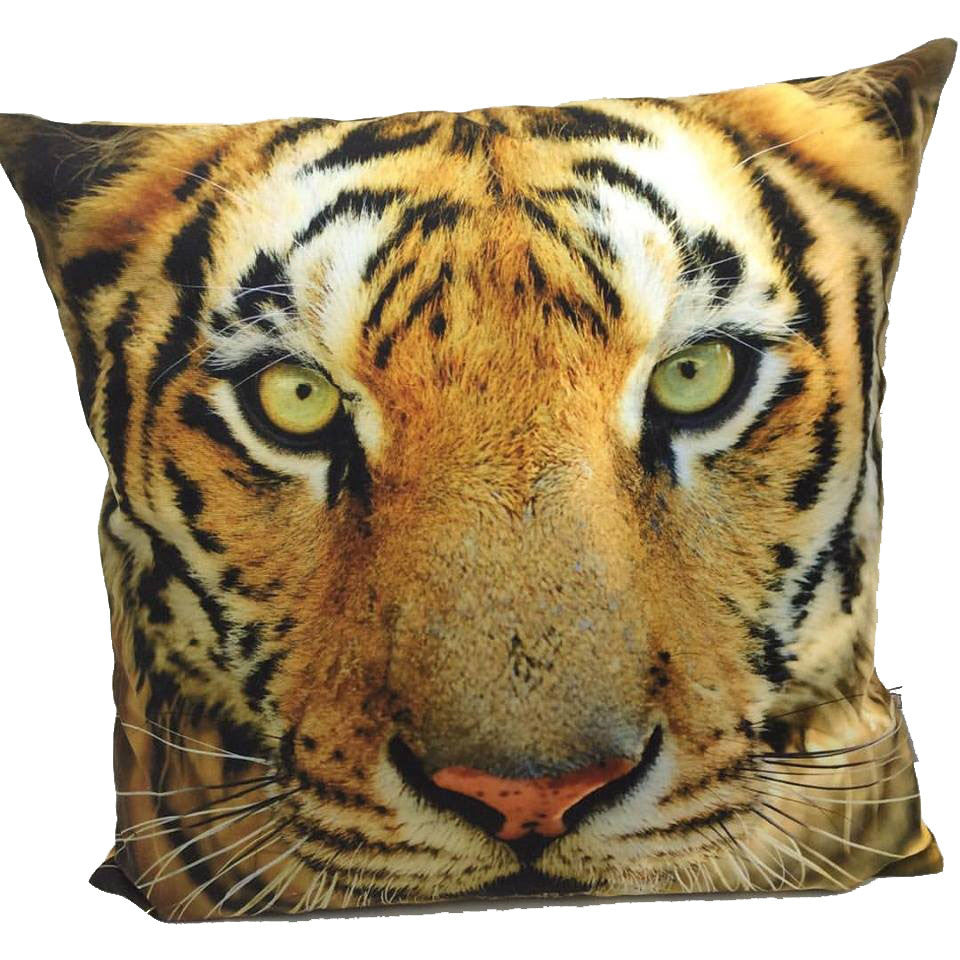 Throw Pillow Case Cover Tiger's Eye - ZBAZAAR