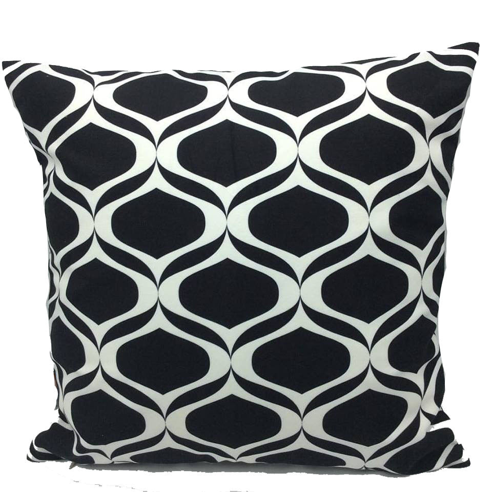 Throw Pillow Case Cover Waves of Love - ZBAZAAR