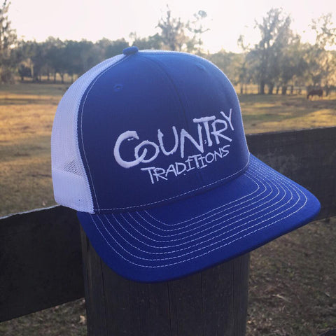 Country Traditions Trucker Hat - Royal