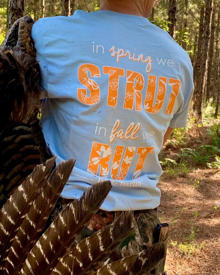 Strut & Rut Tee - Light Blue