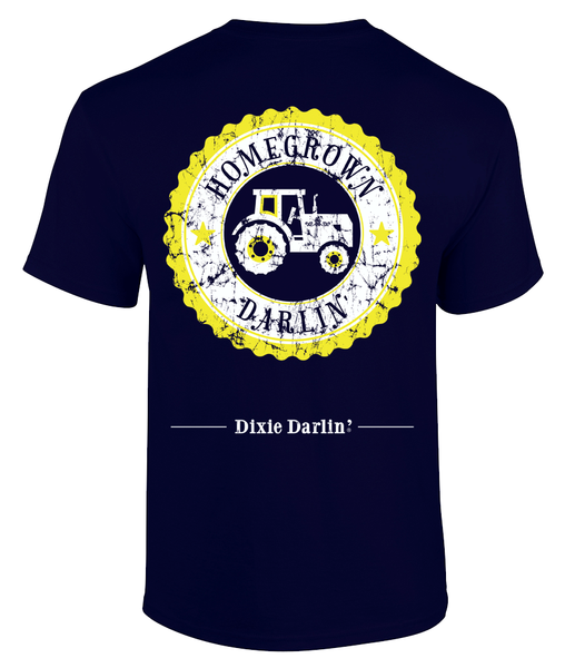 Homegrown Darlin' Tee - Navy