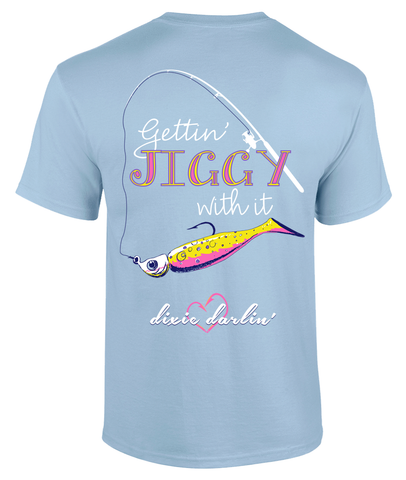 Jiggy Tee - Light Blue