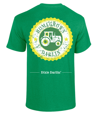 Homegrown Darlin' Tee - Green