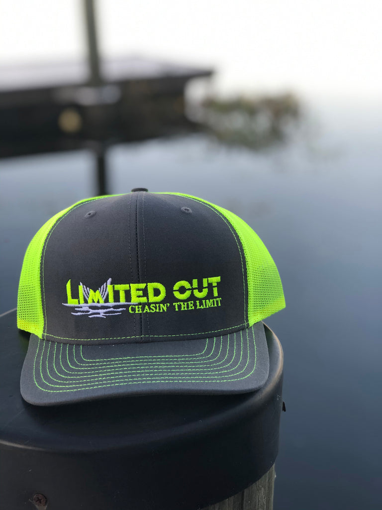Limited Out Trucker Hat - Neon Yellow