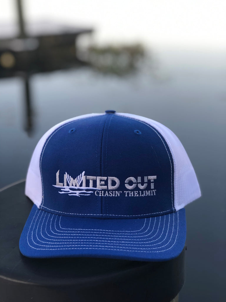 Limited Out Trucker Hat - Blue
