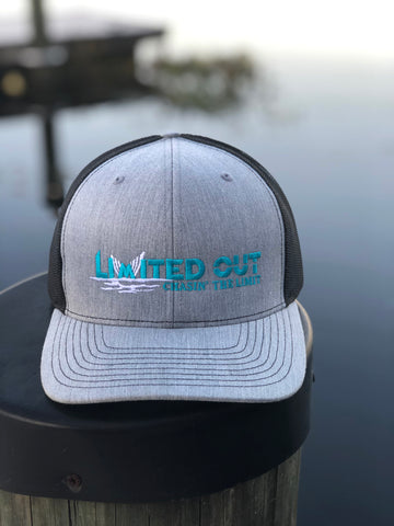 Limited Out Trucker Hat - H. Grey/Black