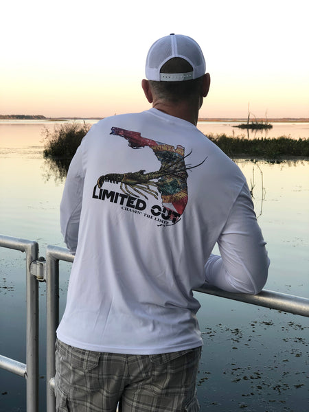 Florida Lobster Dri-Fit - White
