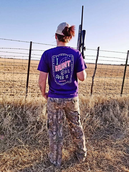 I Hunt Tee - Purple