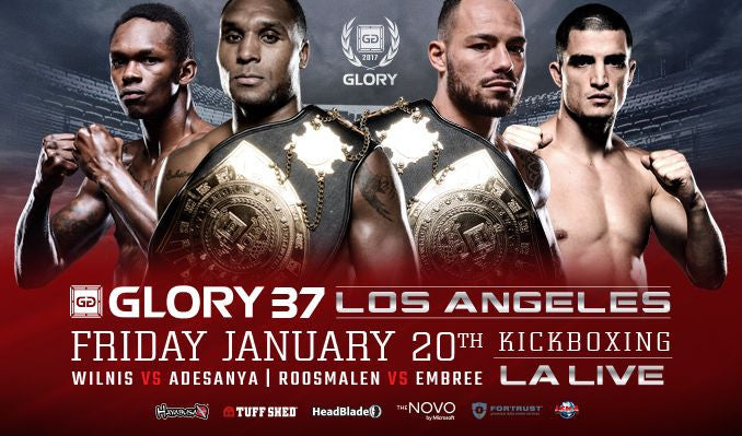 Glory 37 Hits LA this Friday