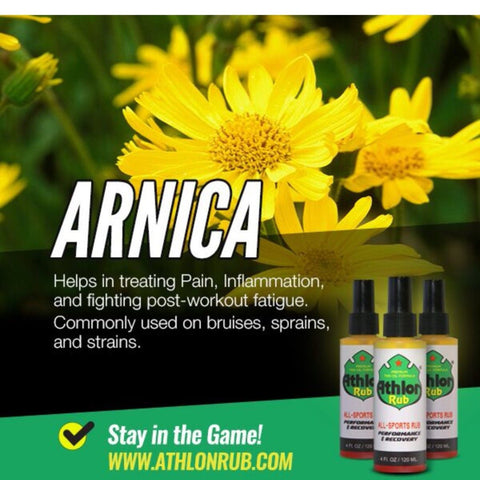 Arnica in Athlon Rub