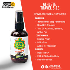 Aceite Athlon Rub