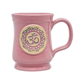 Yoga OM Ceramic Coffee Tea Mug - 12oz - Zenmaste