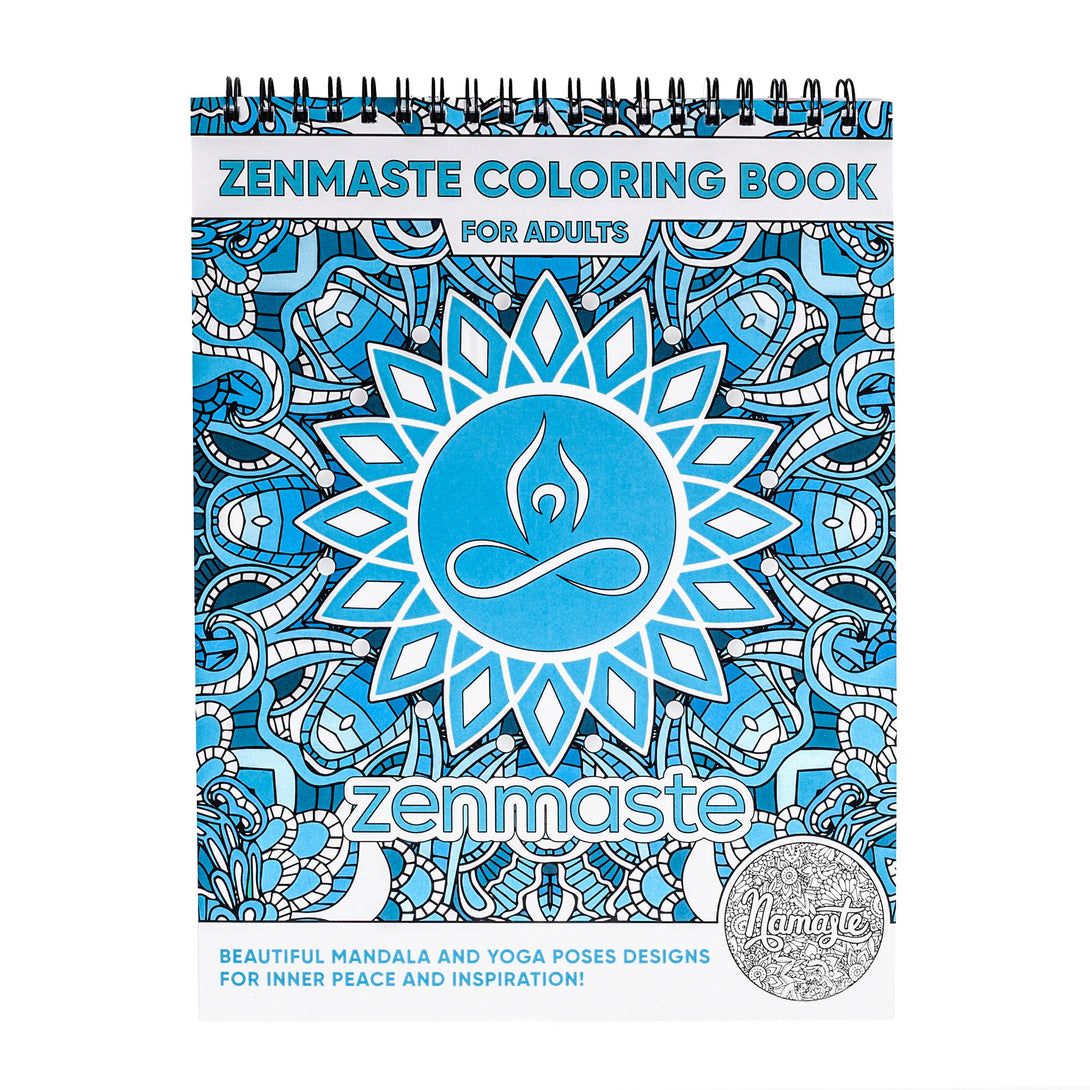 Zenmaste Coloring Book For Adults - Zenmaste