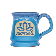 Yoga Namaste Ceramic Coffee Tea Mug - 12oz - Zenmaste