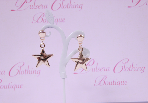 Solid Star Earrings